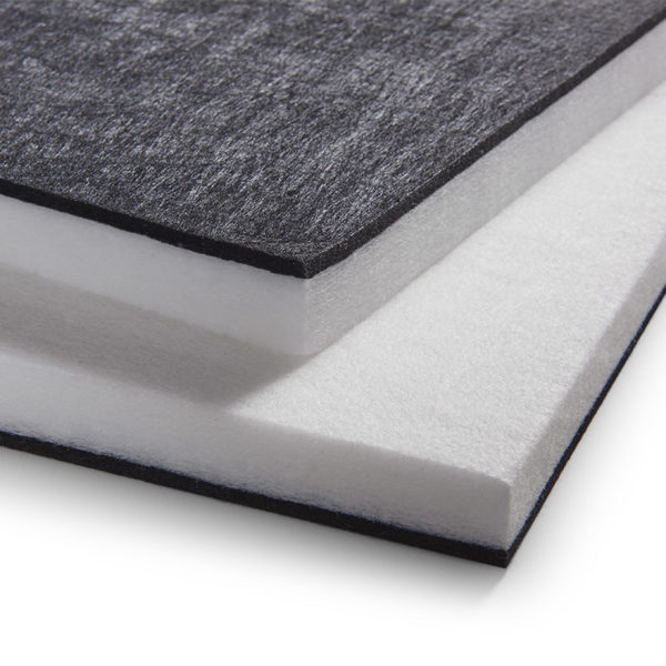 Dual tone Polyester Acoustic panel
